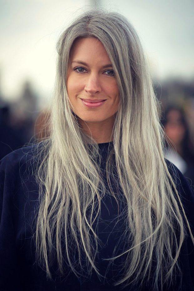 Как сделать темно серый цвет волос