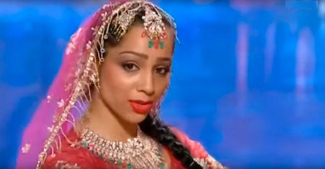Индийский танец на шоу талантов