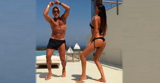 Итальянский бизнесмен танцует