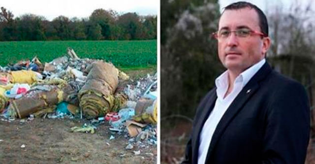 Мэр города вернул мусор