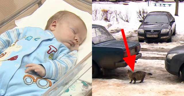 Малышку бросили замерзать в подвале